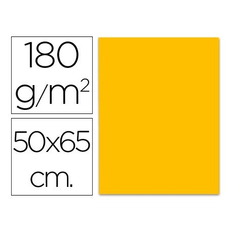 Cartulina Liderpapel 180 g/m2 color naranja