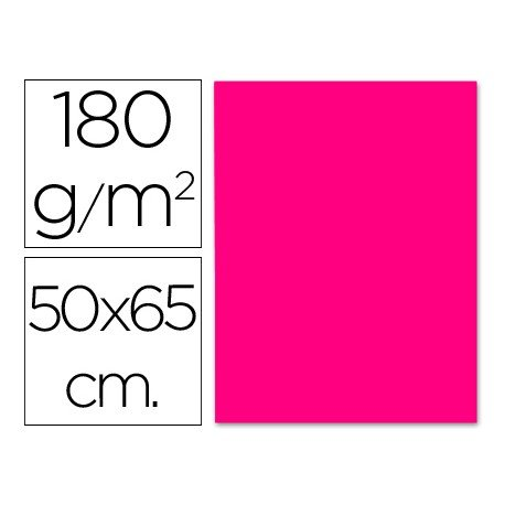 Cartulina Liderpapel 180 g/m2 color fucsia
