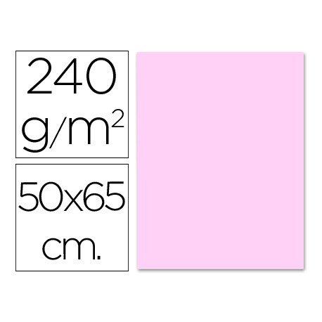 Cartulina Liderpapel 240 g/m2 rosa