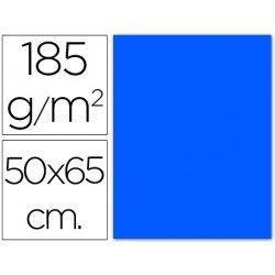 Cartulina Guarro azul mar 500 x 650 mm 185 g/m2