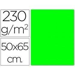 Cartulina verde fluorescente Sadipal