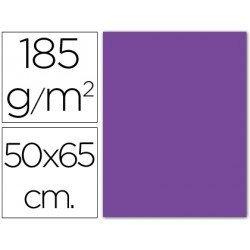 Cartulina Guarro violeta 500 x 650 mm 185 g/m2