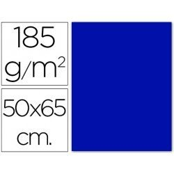 Cartulina Guarro azul ultramar 500 x 650 mm 185 g/m2