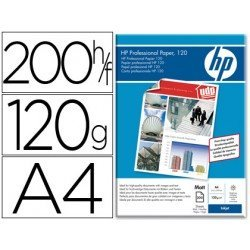 Papel HP Din A4 profesional mate 120g