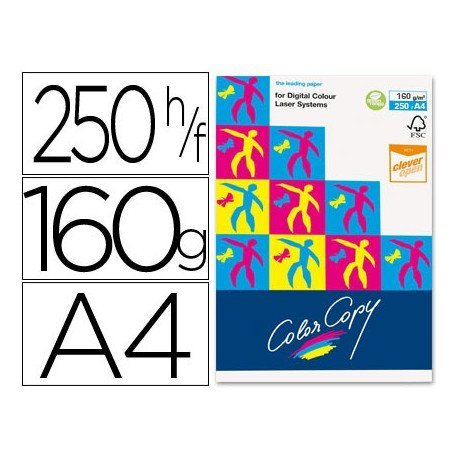 Papel multifuncion Mondi Color Copy A4 160 g/m2 Satinado
