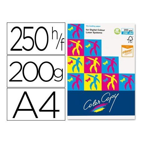 Papel multifuncion Mondi Color Copy A4 200 g/m2 Satinado