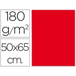 Cartulina Liderpapel 180 g/m2 color rojo navidad