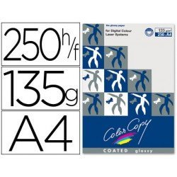 Papel multifuncion Mondi Color Copy A4 135 g/m2 Brillo