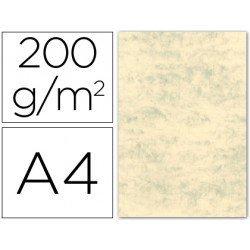 Cartulina marmoleada DIN A4 Crema