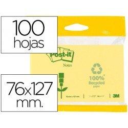 Post-it ® Bloc quita y pon 76 x 127 mm