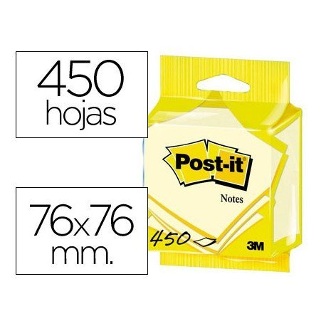 Post-it ® Bloc quita y pon blister