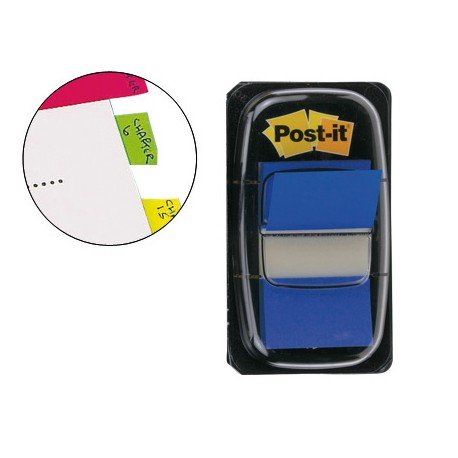 Index Post-it ® medianos color azul