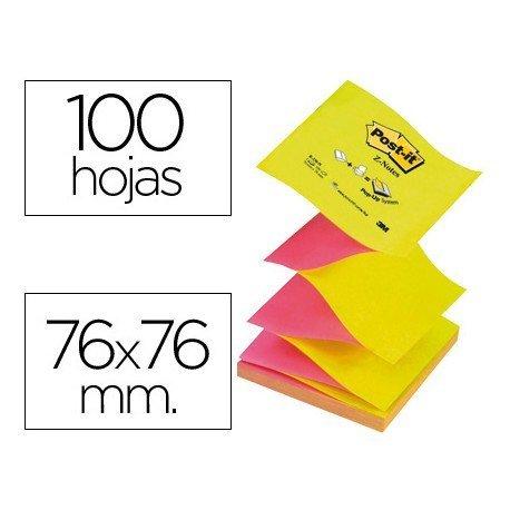 Z-Notes Post it, ® Bloc de notas adhesivas 76 x 76 mm