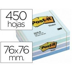 Bloc quita y pon Post-it ® 450 hojas