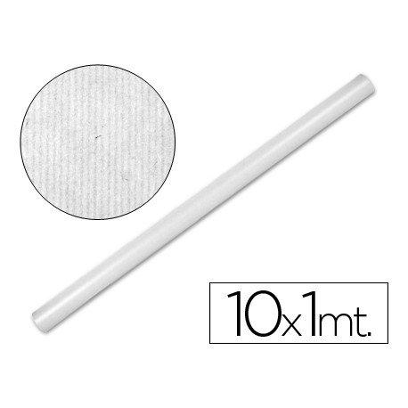 Bobina papel kraft Liderpapel 10 x 1 m blanco