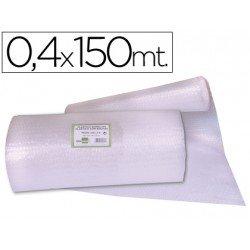 Rollo plástico con burbujas 0,40x150M