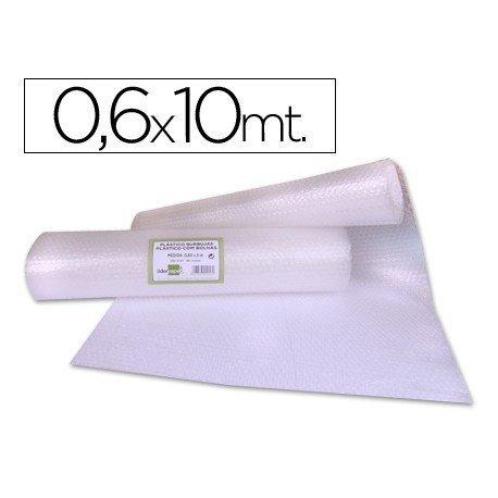 Rollo plástico con burbujas 0,60x10M