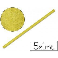 Bobina papel kraft Liderpapel 5 x 1 m amarillo