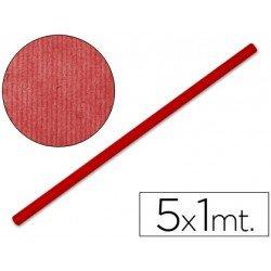 Bobina papel kraft Liderpapel 5 x 1 m rojo