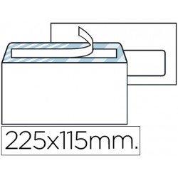 Sobre N.4 Liderpapel, 115x225mm . Caja de 500 sobres