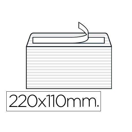 Sobre Verjurado Blanco Liderpapel, 110x220mm