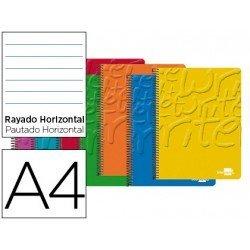 Bloc Din A4 espiral Microperforado Tapa cartoncillo impreso serie Classic Liderpapel