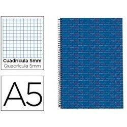 Bloc Din A5 espiral Microperforado Tapa forrada serie Multilider Liderpapel