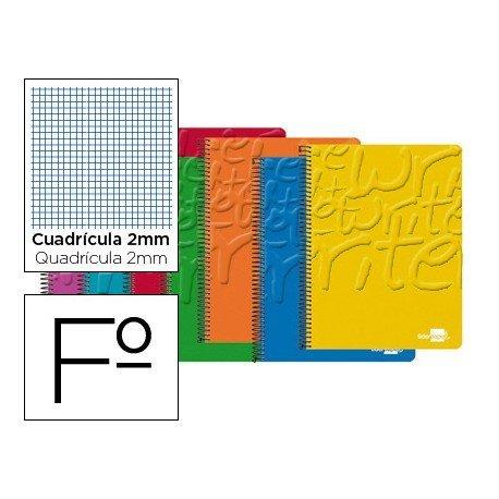 Bloc Liderpapel folio Write milimetrado sin margen