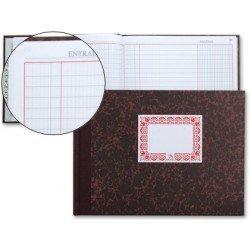 Miquelrius Libro de Caja, Cartone tamaño Cuarto (medio folio)