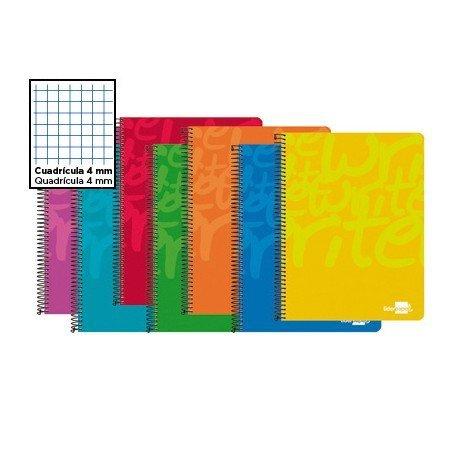 Bloc Folio espiral Tapa cartoncillo impreso serie Classic Liderpapel