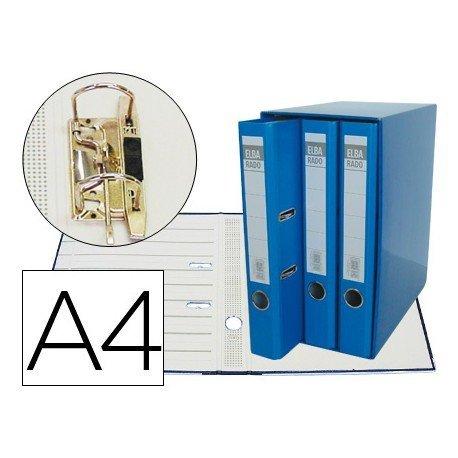 Modulo con 3 archivadores Elba de palanca Color Azul