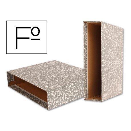 Caja archivador de palanca Liderpapel Classic Red Folio