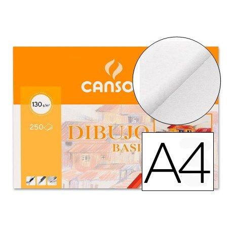 Papel dibujo Canson a4 130 g/m2