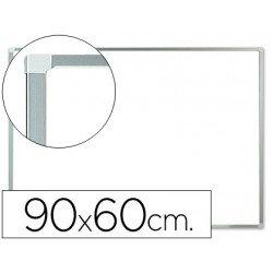 Pizarra Blanca Melamina con marco de aluminio 90x60 Q-Connect