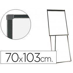 Pizarra Q-Connect tripode marco aluminio negro 103x70 cm