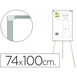 Pizarra Q-Connect magnética trípode extensible 74x100 cm