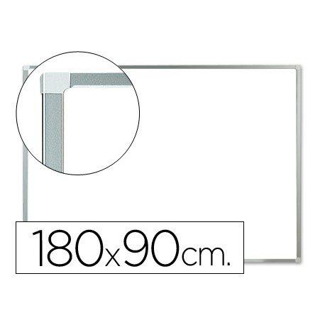 Pizarra Blanca Melamina con marco de aluminio 180x90 Q-Connect