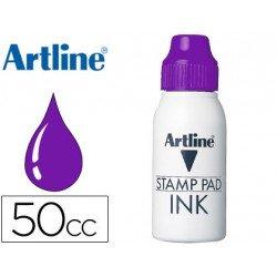 Tinta tampon Artline violeta 50 cc