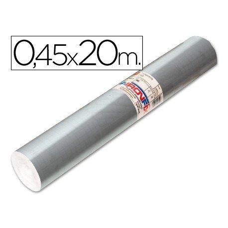 Aironfix Rollo Adhesivo 45cm x 20mt Especial Plata