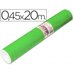 Aironfix Rollo Adhesivo 45cm x 20mt Unicolor Verde Medio
