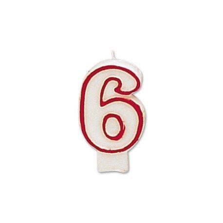 Velas numero 6