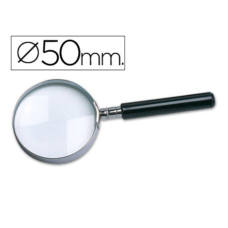 Lupa cristal Liderpapel 50 mm