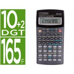 Calculadora Cientifica Citizen SR-260N 10+2 digitos