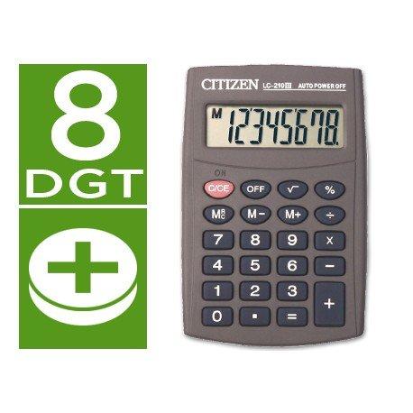 Calculadora Bolsillo Citizen LC-210N 8 digitos