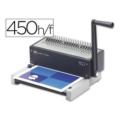 Encuadernadora Comb Bind C150 Pro (Ibimatic) canutillo de plastico Gbc