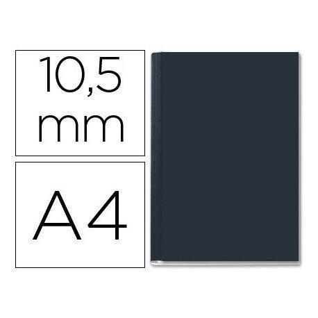 Tapa de Encuadernación Cartón Leitz A4 Negra 71/105 hojas