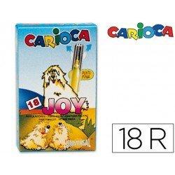 Rotulador Carioca Joy finos lavables caja de 18 rotuladores