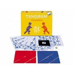 Juego de mesa Tangram Competition marca Diset