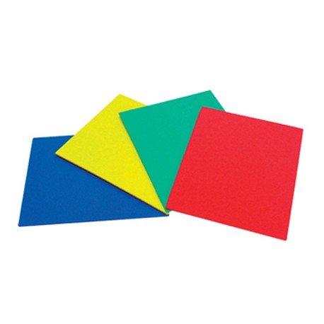 Caucho Alfombrilla color plancha 25x20 cm para punzon
