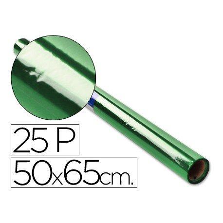 Papel celofan Sadipal 50cmx65cm verde